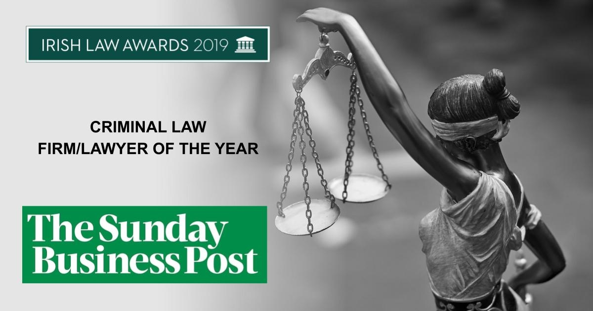Criminal Law Firm of the Year 2019