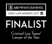 Double Nomination at the Irish Law Awards 2017